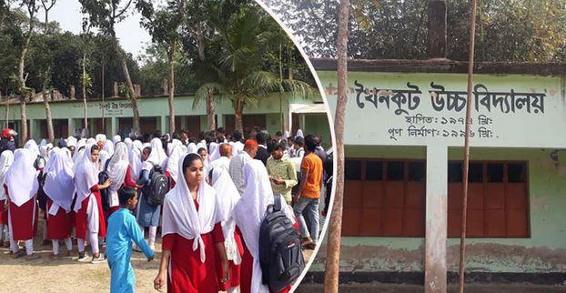শিক্ষার্থীদের বিক্ষোভে খুললো স্কুলের তালা